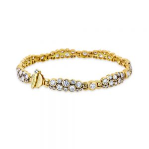 Alex Sepkus Diamond Cluster Bracelet